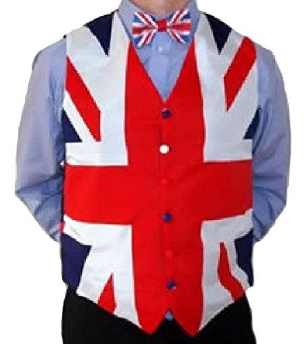 Union Jack Wear Union Jack Waistcoat M union jack