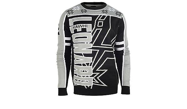 San Antonio Spurs Kawhi Leonard #2 Crew neck NBA feo Sweater Talla:small: Amazon.es: Deportes y aire libre