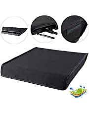 eXtremeRate Funda Prueba de Polvo Cubierta Protectora Horizontal para Sony Consola PS4 Slim Negro