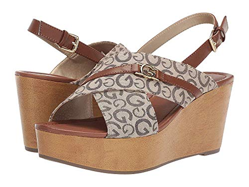 G by GUESS Women's Dee Taupe/Bc Rio Maple 7 M US