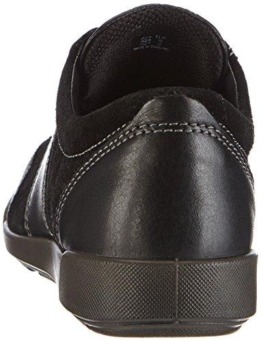 Femmes Crisp à Derbies Black Ecco Lacets II Black Schwarz Noir dBtwBXqF