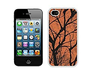 Personalized Design Halloween White iPhone 4 4S Case 20