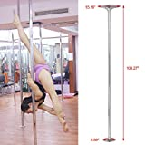 WALLER PAA Dance Pole 45mm Solid Dancing Fitness