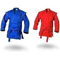 Ju-Sports Sambo Chaqueta de kurtka de Color Azul