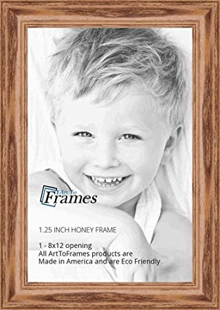 ArtToFrames 24x30 inch Cherry stain on Solid Red Oak Wood Picture Frame, WOM0066-59504-YCHY-24x30
