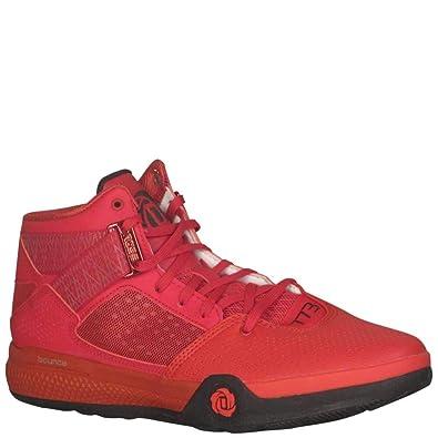 competitive price 7b0c4 84de1 Amazon.com  adidas Mens SM D Rose 773 IV Basketball Power RedCore  BlackScarlet  Basketball
