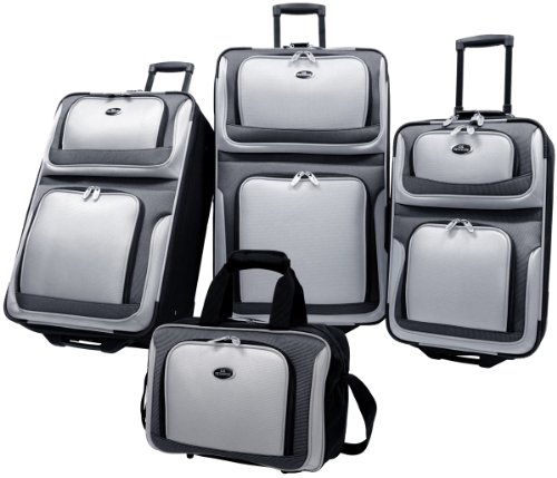 us-traveler-new-yorker-lightweight-expandable-rolling-luggage-4-piece-suitcases-sets-grey