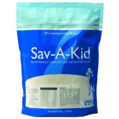 milk products llc 01-7418-0215 Sav-A-Kid, 4 LB, Milk Replacer