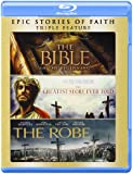 Bible, The / The Greatest Story Ever Told / The Robe Triple Feature Blu-ray