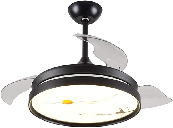 Ventilador con luz 50 cm, Sala Comedor, Techo, Ventilador, luz ...