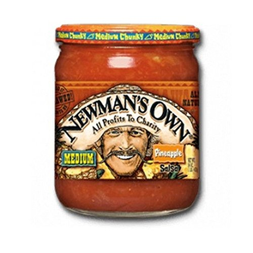 Newmans Own Salsa Pineapple (Pack of 3)
