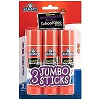 3 Sticks Elmer's Disappearing Glue Stick