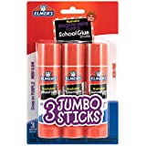 Elmer's Glue Stick (E579), Disappearing Purple, 3 Sticks