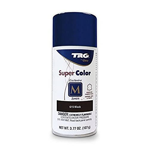 Amazon.com: TRG Color Spray Leather Plastic Vinyl Paint/dye 3.7 oz. | Easy DIY Application| Shoe Care Renew Spray Color Dye (Black 615): Shoes