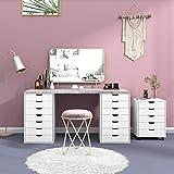 DEVAISE 5-Drawer Chest, Wood Storage Dresser