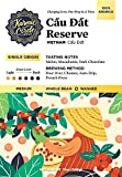 vietnamese coffee beans - Cau Dat Reserve 100% Arabica 12oz -Harvested from Earth's Most Fertile Coffee Growing Landscape