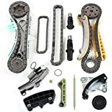 """Brand New TK4090 Timing Chains Gears Tensioners Guide Rails Kit for 97-11 Ford Mazda Mercury 4.0L 245 SOHC Engine, VIN Code """"E"""" """"K"""" """"N"""""""