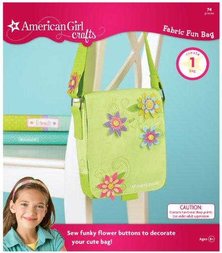 - American Girl Crafts Fun Fabric Bag Kit, Cool