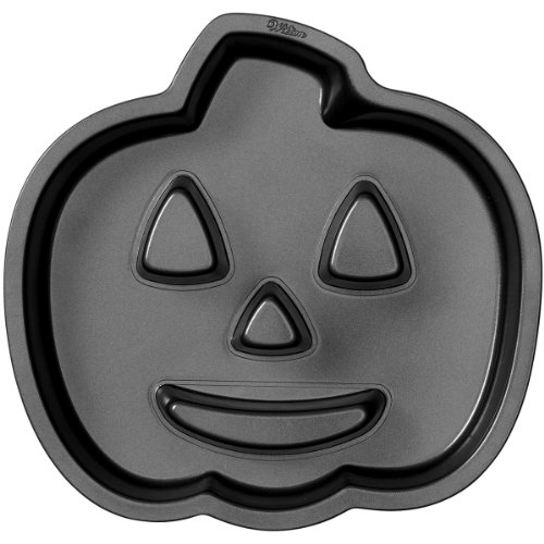 Wilton 2105-0679 Halloween Jack-O-Lantern Fluted Cake Pan (Halloween Mouth Stencil)