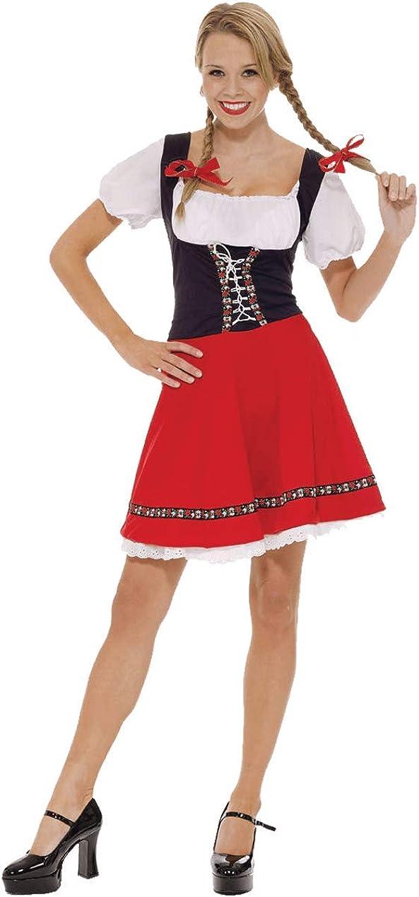 Disfraz Orion de Camarera Chica que sirve Cerveza en el Festival ...