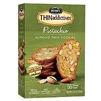 Nonni's Thinaddictives, Pistachio Almond, 4.4 Ounce