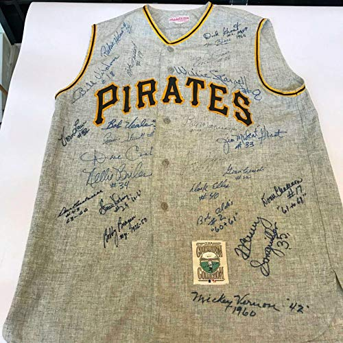 Jerseys Roberto Clemente - Roberto Clemente Autographed Jersey - The Finest HOF Legends COA - JSA Certified - Autographed MLB Jerseys