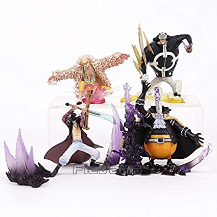 One Piece P.o.p Dx Donquixote Doflamingo Action Figure Sitting On Sofa Anime Pvc Collectible Model Toy Decoration Doll Toys & Hobbies