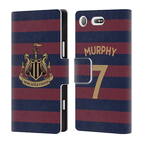 Wallet Murphy Compact (Official Newcastle United FC NUFC Jacob Murphy 2018/19 Players Away Kit Group 1 Leather Book Wallet Case Cover for Sony Xperia XZ1 Compact)