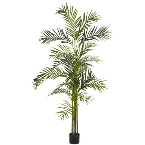 Nearly Natural 6' Areca Palm Silk Tree Green ()