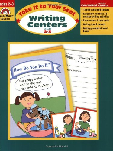 Take It to Your Seat Writing Centers, Grades (Primary Literacy Centers)