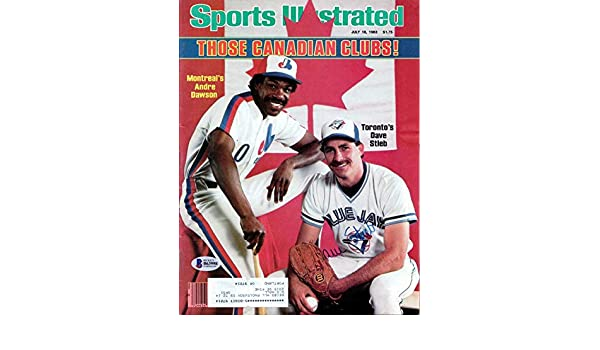 df96370c8be Dave Stieb Autographed Sports Illustrated Magazine Toronto Blue Jays  Beckett BAS  B63998 - Beckett Authentication at Amazon s Sports  Collectibles Store