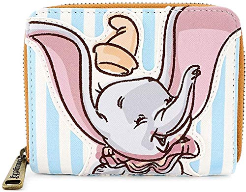 Loungefly Disney Dumbo Striped Faux Leather Wallet