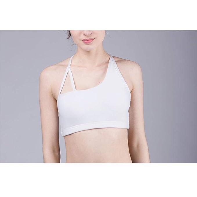 Igspfbjn Yoga Bralette Ocio Sujetadores Deportivos Confort Sujetador Chaleco Estiramiento Tops para Mujeres: Amazon.es: Ropa y accesorios