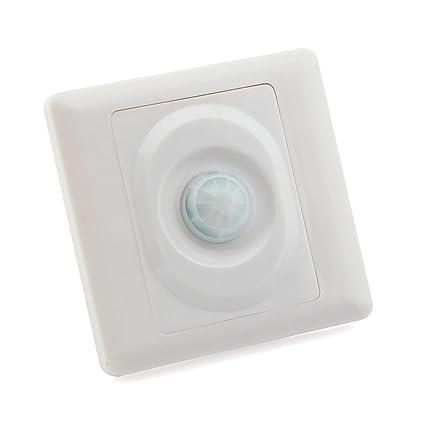Tipo de pared interruptor de sensor de movimiento IR Sensor Infrarrojo Automático Interruptor de luz
