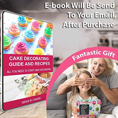 Photo of Cake Decorating Supplies Kit 52 pcs – Mint Version – Icing Piping bags and Tips Cupcake Decorating Kit with 12 Frosting bags and 32 Numbered Tips – Baking Supplies and Frosting Tools Set – Best Chili Recipe
