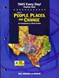 People, Places and Change, Holt, Rinehart and Winston Staff, 0030690560