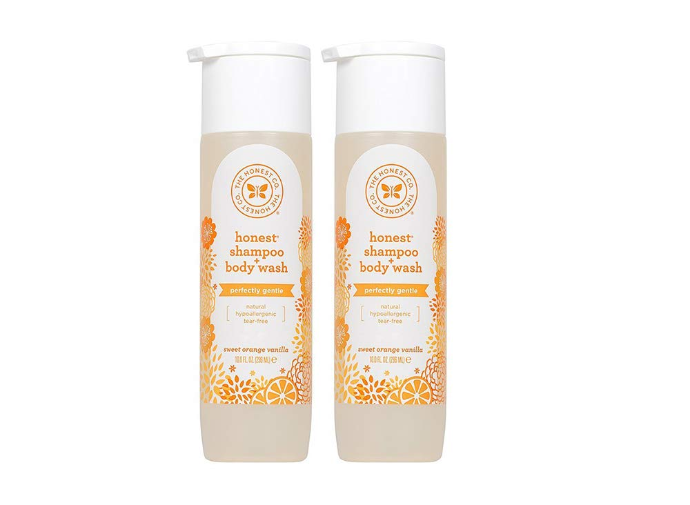 Sweet Orange Vanilla, 10 Ounce (2 Bottles) by The Honest Company