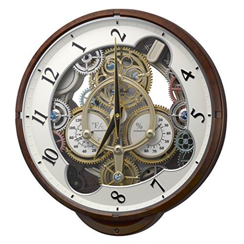 Rhythm Clocks ''Widget'' Magic Motion Clock, Woodgrain by Rhythm Clocks (Image #1)
