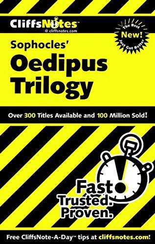 CliffsNotes on Sophocles' Oedipus Trilogy (1st 2011) [Higgins & Higgins]