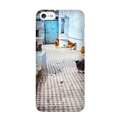 iPhone 4/4S Coque photo - poules caqueter