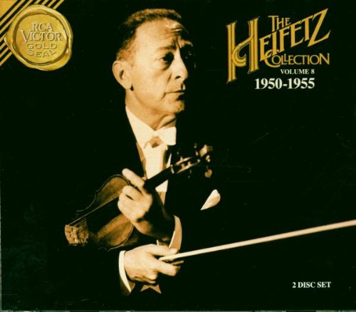 The Heifetz Collection, Vol. 8 (1950-1955)