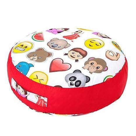 Emoji Emoticonos diseño infantil gigante Soft Play - Cojín ...