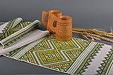Rushnik Ukrainian ethnic towel with embroidery house decor