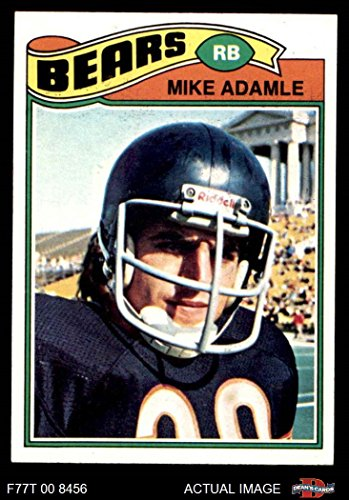 1977 Topps   481 Mike Adamle Chicago Bears  Football Card  Deans Cards 8   Nm Mt Bears