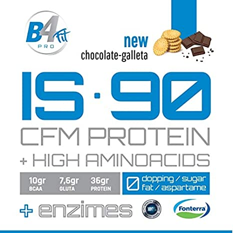 PROTEINA IS-90 CFM PROTEIN 90% 2 kg CHOCOLATE-GALLETA + ...