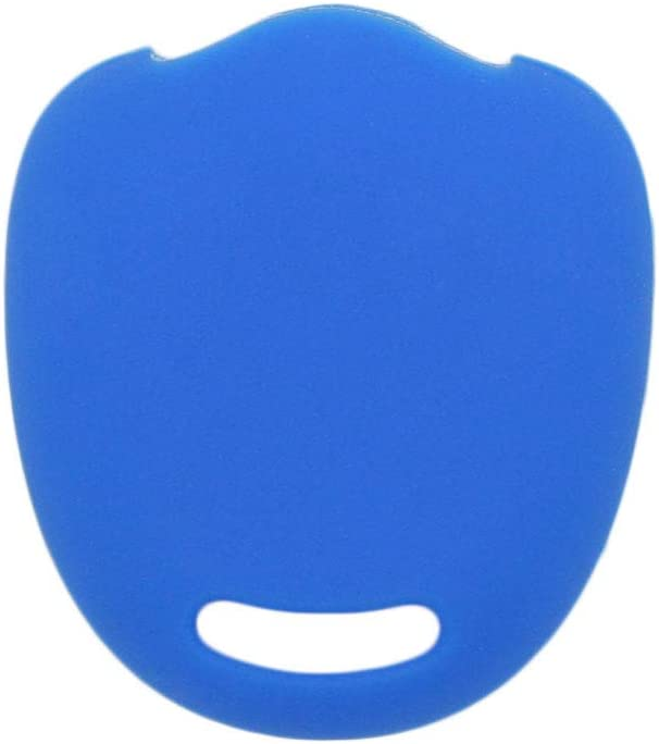 SEGADEN Silicone Cover Protector Case Holder Skin Jacket Compatible with MITSUBISHI 2 Button Remote Key Fob CV4524 Deep Blue
