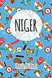 Niger Travel Journal: 6x9 Travel planner I Road trip planner I Dot grid journal I Travel notebook I Travel diary I Pocket journal I Gift for Backpacker
