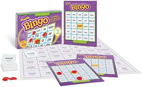 TREND ENTERPRISES INC. Antonyms Bingo - Juego de Mesa: Amazon.es: Juguetes y juegos