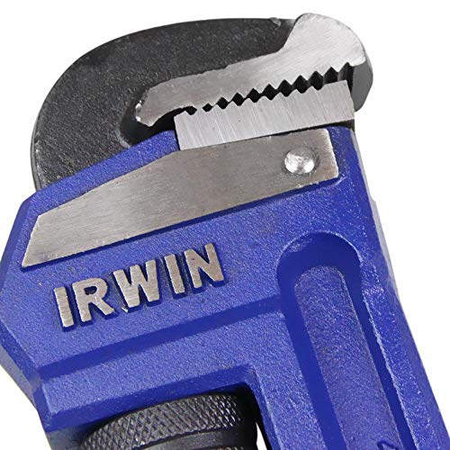IRWIN Tools VISE-GRIP Pipe Wrench, Cast Iron, 1-1/2-Inch Jaw, 10-Inch Length (274101)