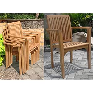 51mFUc-a4CL._SS300_ Teak Dining Chairs & Outdoor Teak Chairs